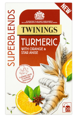 Twinings Herbal Superblends Tea - Turmeric