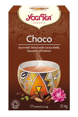 Yogi Herbal Organic Ayurvedic Tea - Choco