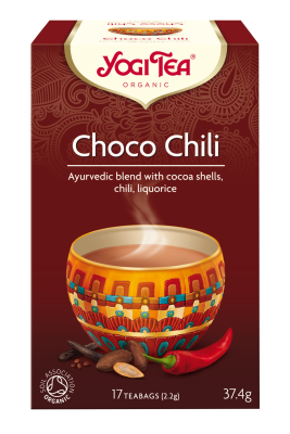 Yogi Herbal Organic Ayurvedic Tea - Choco Chili