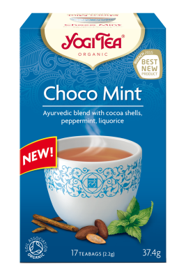 Yogi Herbal Organic Ayurvedic Tea - Choco Mint