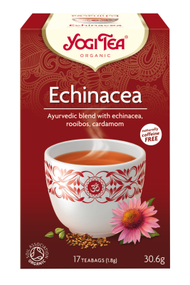 Yogi Herbal Organic Ayurvedic Tea - Echinacea