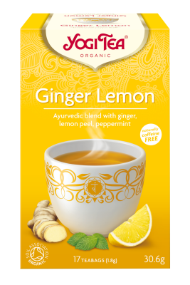 Yogi Herbal Organic Ayurvedic Tea - Ginger Lemon