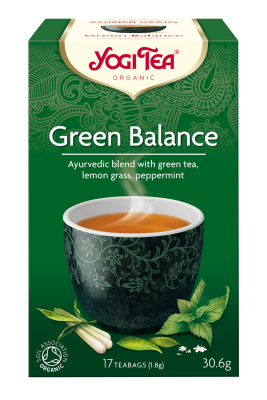 Yogi Herbal Organic Ayurvedic Tea - Green Balance
