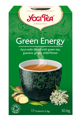Yogi Herbal Organic Ayurvedic Tea - Green Energy