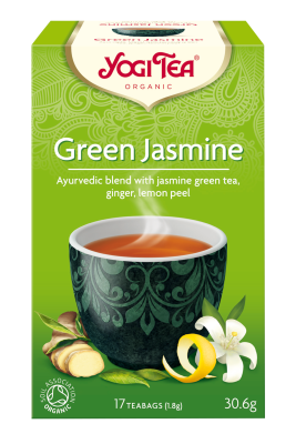 Yogi Herbal Organic Ayurvedic Tea - Green Jasmine