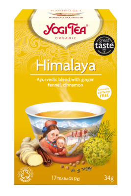 Yogi Herbal Organic Ayurvedic Tea - Himalaya