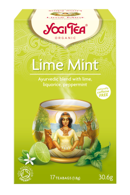 Yogi Herbal Organic Ayurvedic Tea - Lime Mint