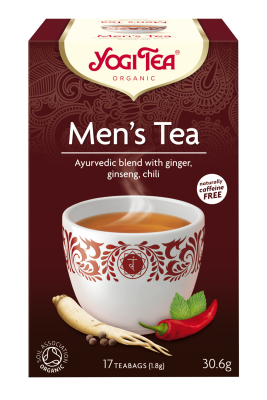 Yogi Herbal Organic Ayurvedic Tea - Men's Tea