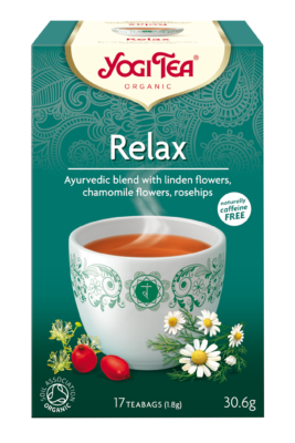 Yogi Herbal Organic Ayurvedic Tea - Relax