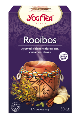 Yogi Herbal Organic Ayurvedic Tea - Rooibos