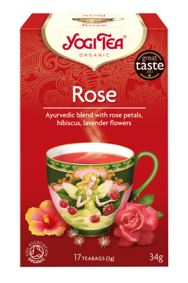 Yogi Herbal Organic Ayurvedic Tea - Rose
