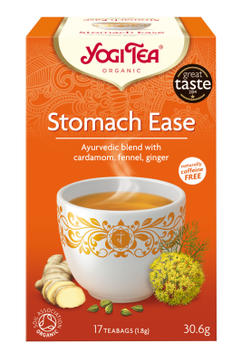 Yogi Herbal Organic Ayurvedic Tea - Stomach Ease