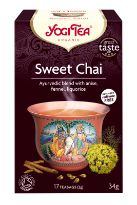 Yogi Herbal Organic Ayurvedic Tea - Sweet Chai