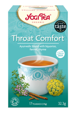 Yogi Herbal Organic Ayurvedic Tea - Throat Comfort