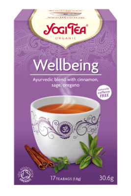 Yogi Herbal Organic Ayurvedic Tea - Wellbeing