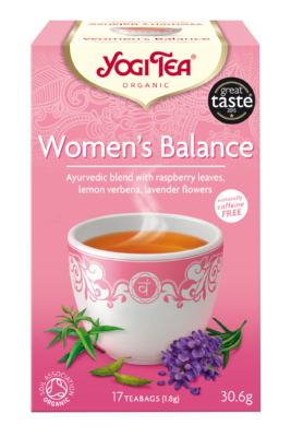 Yogi Herbal Organic Ayurvedic Tea - Women's Balance