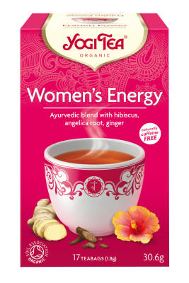 Yogi Herbal Organic Ayurvedic Tea - Women's Energy